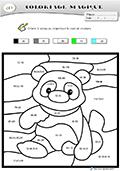 Coloriage magique panda - Coloriage panda maternelle ...