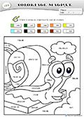 Coloriage Magique Cm2 Grammaire.Fiches Coloriage Magique
