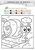 Coloriage Intelligent Cp.Fiches Coloriage Magique