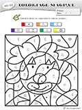 Coloriage Magique Fin Cp Maths.Fiches Coloriage Magique