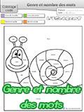 Coloriage magique grammaire - Coloriage magique conjugaison cm1 ...