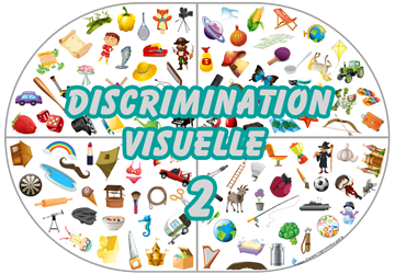 Jeu de discrimination à tous les niveaux 2 à Imprimer