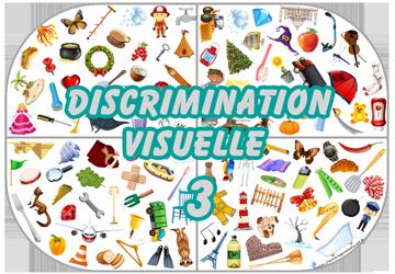 Jeu de discrimination à tous les niveaux 3 à Imprimer