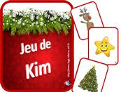 Le Jeu de Kim sur Noël se délecte de la couleur