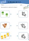 Maternelle: nomences de 1 à 3 - 02
