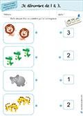 Maternelle: nomences de 1 à 3 - 03