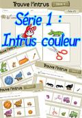 Trouver l'intrus couleur en Maternelle