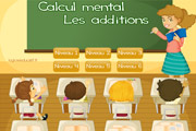 Calcul mental : additions