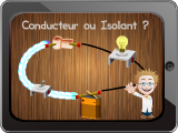 Conducteur ou isolant pour tablettes