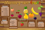 Memory des fruits