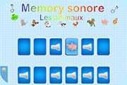 memory sonore animaux