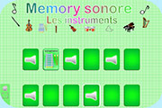 Memory sonore instruments orchestre