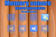 Memory sonore instruments jazz rock
