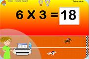 Tables de multiplication - Jeux gratuit de table de multiplication ...